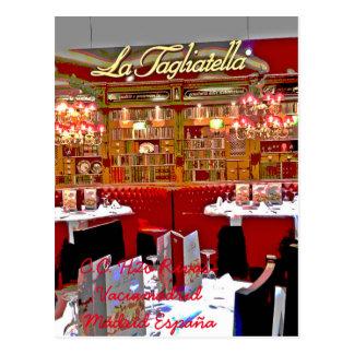 Restaurante centro comercial H2O de Rivas vaciamad Postal
