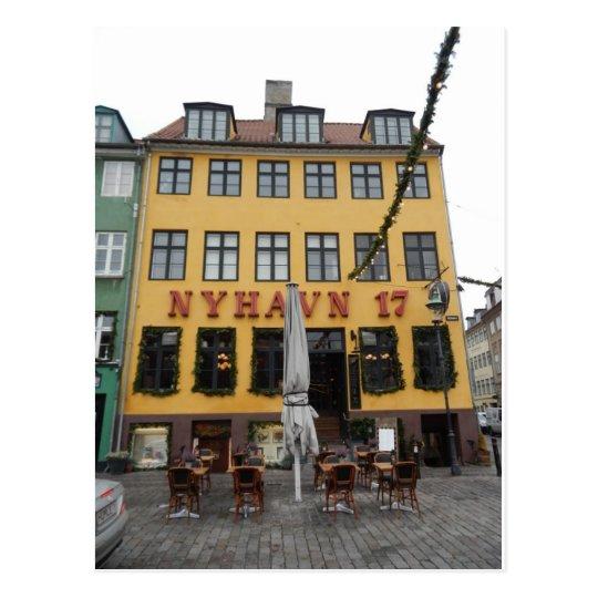 Restaurante Copenhague Dinamarca de Nyhaven 17 Postal