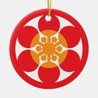 Restaurante japonés 05 de Tsubaki Ornamento De Navidad