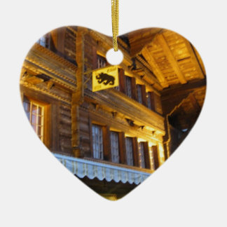 Restaurante Unterseen Interlaken Ornaments Para Arbol De Navidad