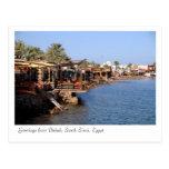 Restaurantes de Dahab, Sinaí del sur, Egipto Tarjetas Postales