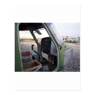 Restos del helicóptero de la guerra fría postales
