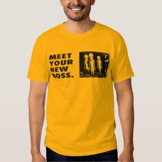 Resuelva su nuevo Boss Camisas