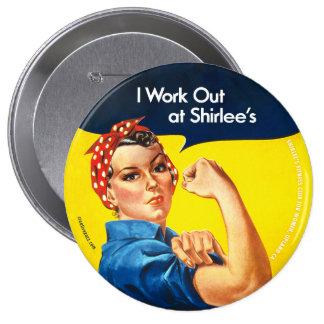 Resuelvo en Rosie de Shirlee el botón del remach Pins