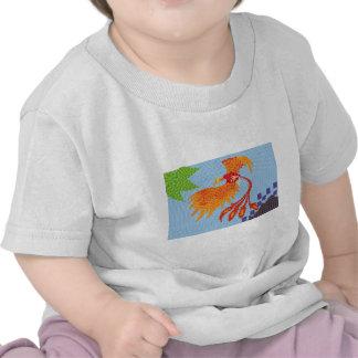 Resurgir del ave fenix tee shirts
