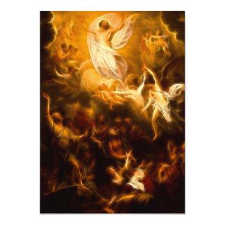 Resurrección increíble de Jesús Invitación 12,7 X 17,8 Cm