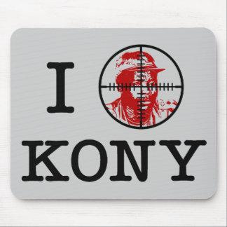 Retículos 2012 de la blanco de Kony José Kony Alfombrilla De Ratón