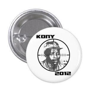 Retículos 2012 de la blanco de Kony José Kony Chapa Redonda 2,5 Cm