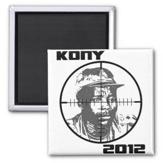 Retículos 2012 de la blanco de Kony José Kony Imán Cuadrado