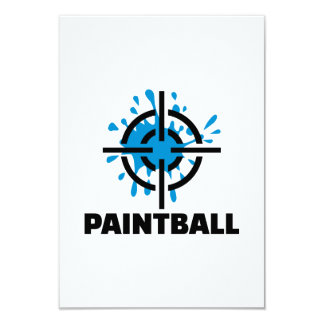 Retículos del chapoteo de Paintball Comunicado