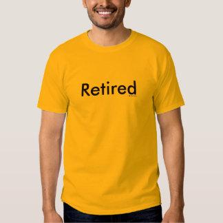 Retirado Camisas