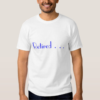 Retirado… Camiseta