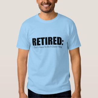 Retirado Camisetas