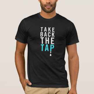¡Retire el golpecito! La camiseta de los hombres