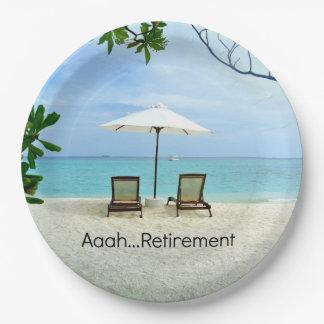 Retiro de Aaah… Plato De Papel