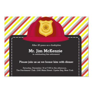Retiro del bombero invitación
