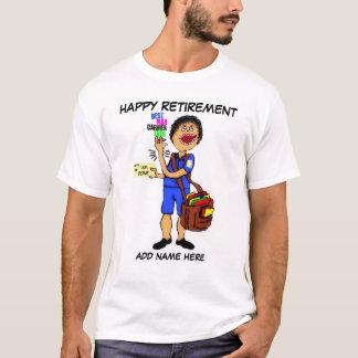 Retiro del cartero camiseta