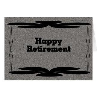 Retiro feliz tarjetas
