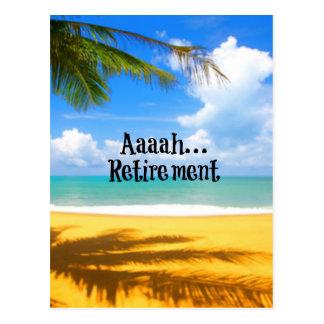 Retiro y relajación de Aaah… Postales