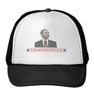 Retrato 2012 del texto de Barack Obama Gorros