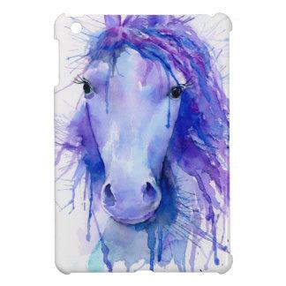 Retrato abstracto del caballo de la acuarela