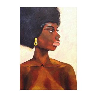 Miles de diseños de lienzos con diseños sobre retratos en Zazzle