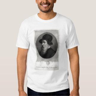 Retrato Benvenuto Cellini grabado cerca Camisas