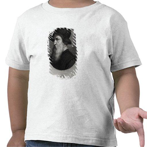 Retrato Benvenuto Cellini grabado cerca Camiseta