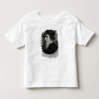 Retrato Benvenuto Cellini grabado cerca Camiseta De Bebé