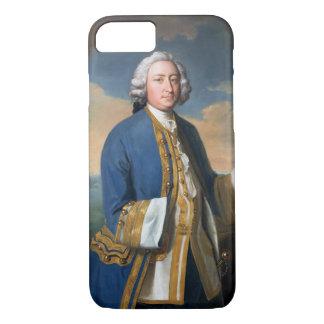 Retrato de 1709-87) tenencias de capitán David Funda iPhone 7