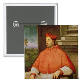 Retrato de A. cardinal Pallavicini, 1512 Chapa Cuadrada 5 Cm