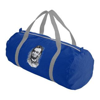 Retrato de Abraham Lincoln Bolsa De Deporte