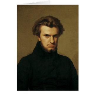 Retrato de Ambroise Thomas 1834 Tarjeta De Felicitación
