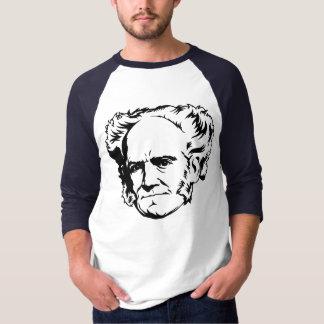 Retrato de Arthur Schopenhauer Camisas