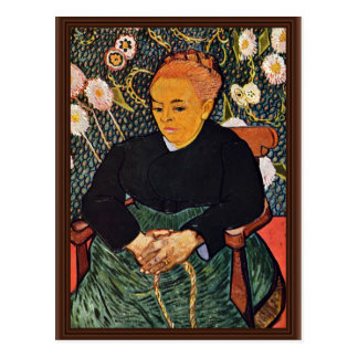 Retrato de Augustine Roulin (La Berceuse) Postal
