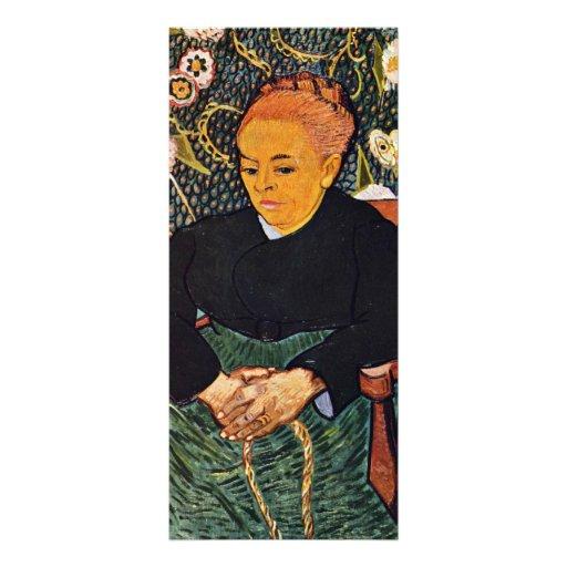 Retrato de Augustine Roulin (La Berceuse) Lonas