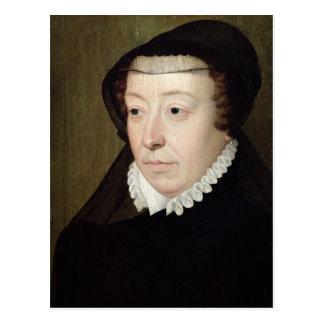 Retrato de Catherine de Medici Postal