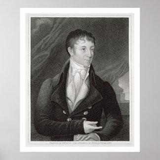 Retrato de Charles Brockden Brown (1771-1810), en Póster