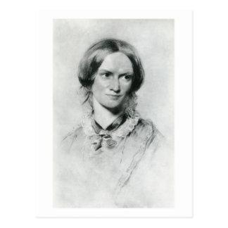 Retrato de Charlotte Brontë de George Richmond Postal