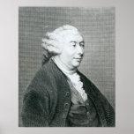 Retrato de David Hume Poster