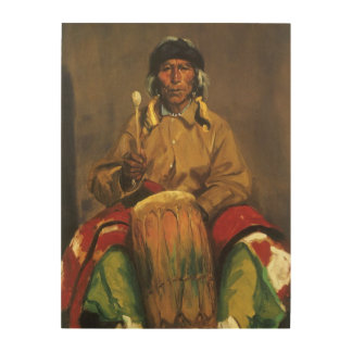 Retrato de Dieguito Roybal de Robert Henri Cuadro De Madera
