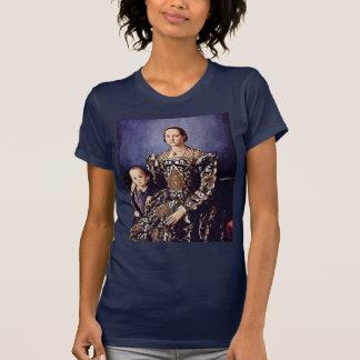 Retrato de Eleonora di Toledo de Bronzino Ángel Camiseta