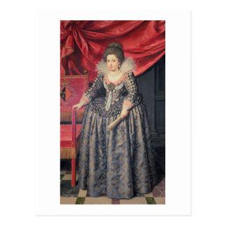 Retrato de Elizabeth de 1602-44) hijas de Francia Postal
