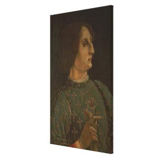 Retrato de Galeazzo Mario Sforza (1444-76) c.1471 Impresión En Lienzo
