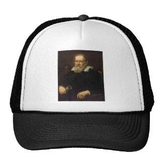 Retrato de Galileo Galilei de Justus Sustermans Gorro