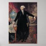 Retrato de George Washington, 1796 Póster