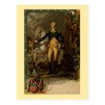 Retrato de George Washington Postal