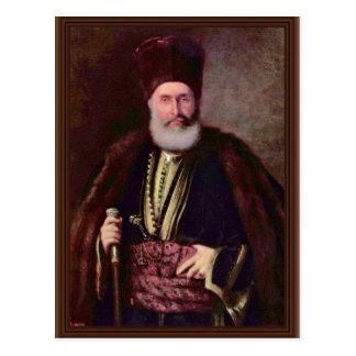 Retrato de Großbanu Nasturel Herescu por Grigoresc Postal