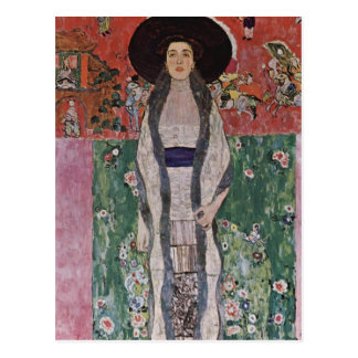 Retrato de Gustavo Klimt de Adela Bloch-Bauer II Postal
