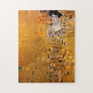 Retrato de Gustavo Klimt Puzzle